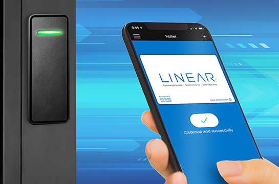 Linear Bluetooth Reader and Mobile App